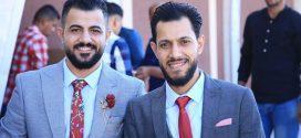 اشهار عقد قران الشابين ماجد ومحمد سليمان شعبان شراب الف مبارك