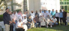 زيارة وفد من مجلس ورابطة شباب عائلة شراب لرئيس بلدية خان يونس