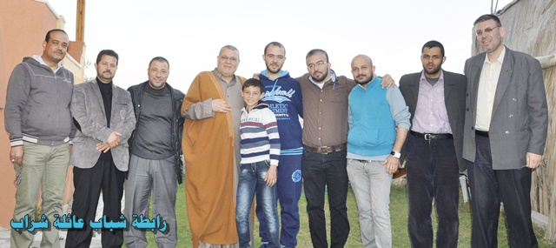 قام وفد من الرابطة بعدد من الزيارات الاجتماعية لعدد من أبناء العائلة .