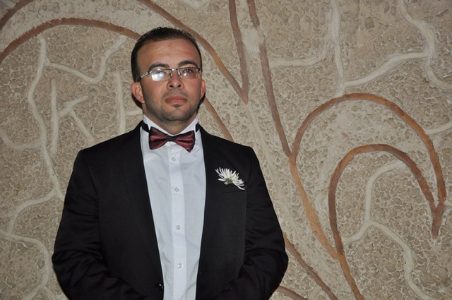 تهنئة بحفل زفاف المهندس كنان محمد أحمد الخطيب شراب